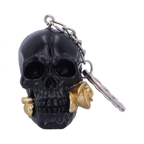 Black Rose from the Dead Keyrings 4.3cm (set of 6)